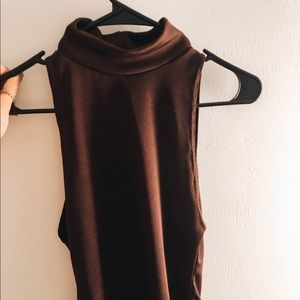 High neck body suit NEVER WORN